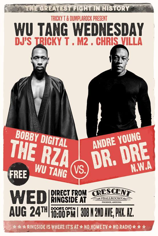 The RZA vs Dr. Dre MomPhX