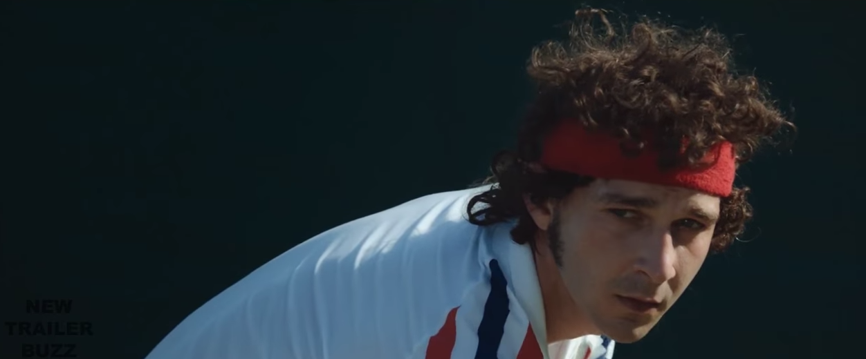 Borg/McEnroe – Shia LaBeouf and Stellan Skarsgård Tennis Movie