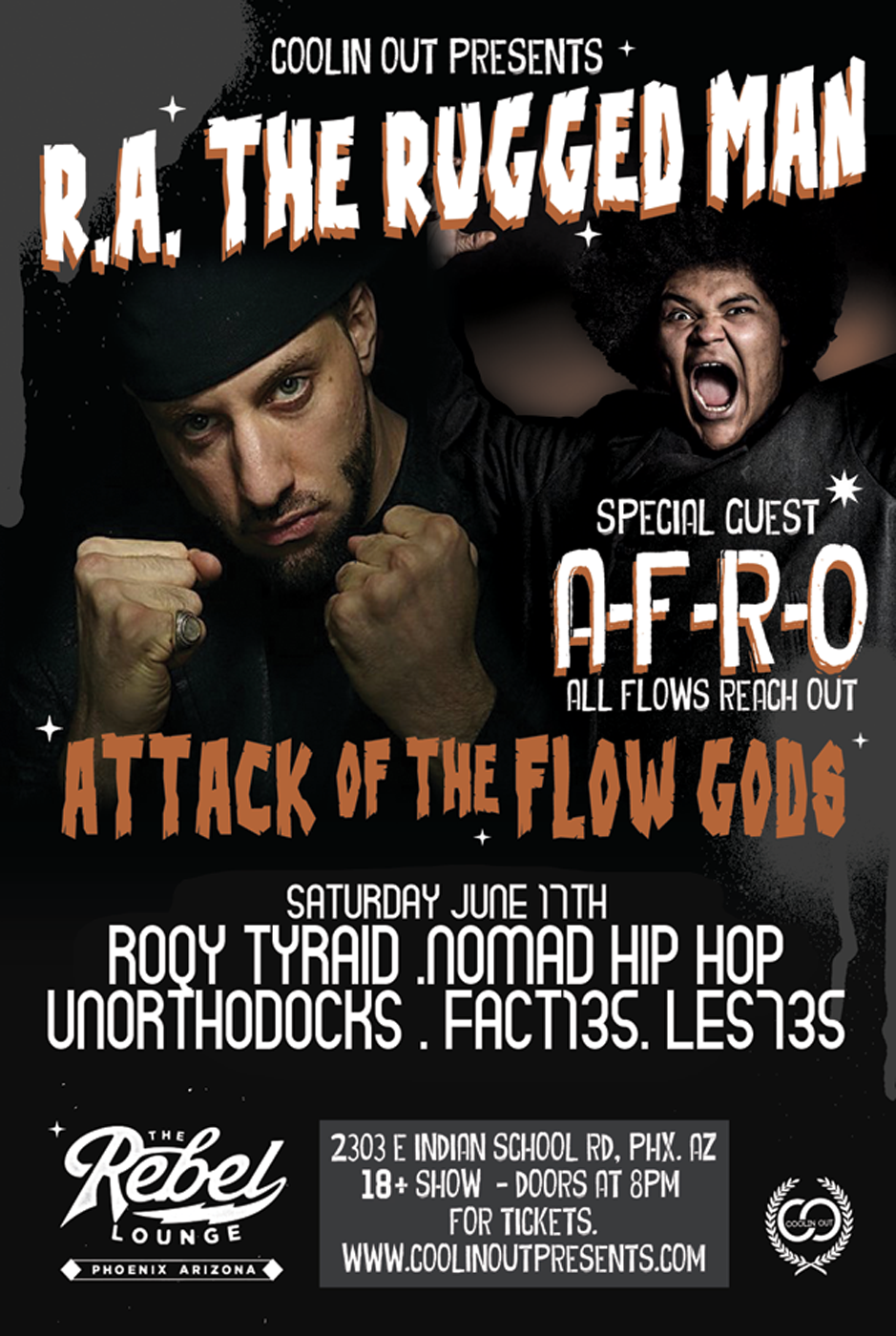 R.A. the Rugged Man and A-F-R-O