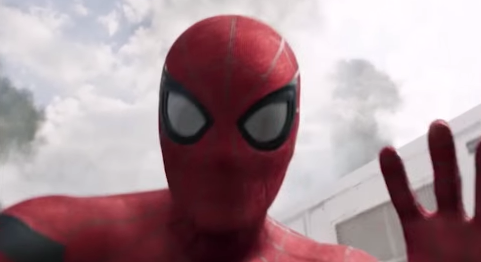 Spiderman Homecoming first four min here