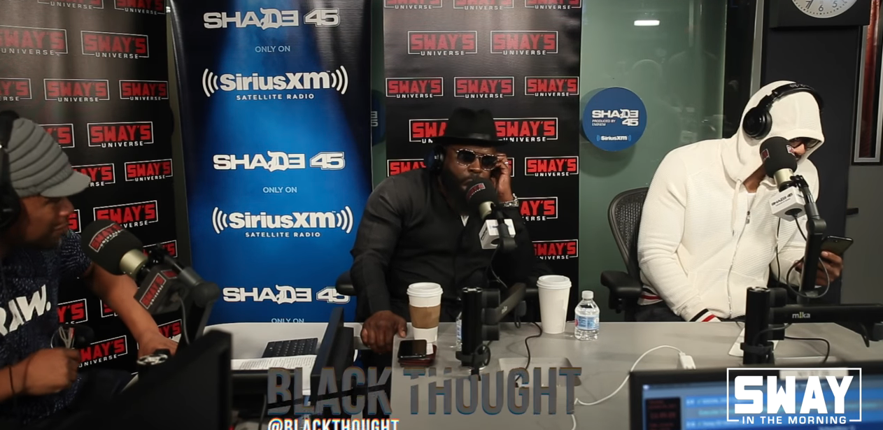 Method Man & Blackthought on Sway in the Morning | Coolin Out Hip Hop Shop